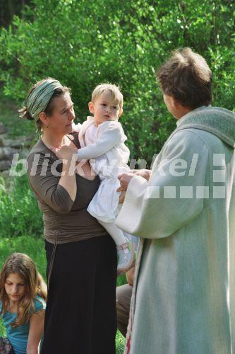 Taufe Im Freien