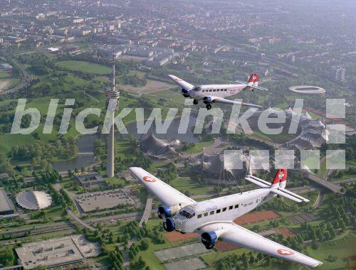 Flugzeuge über Deutschland