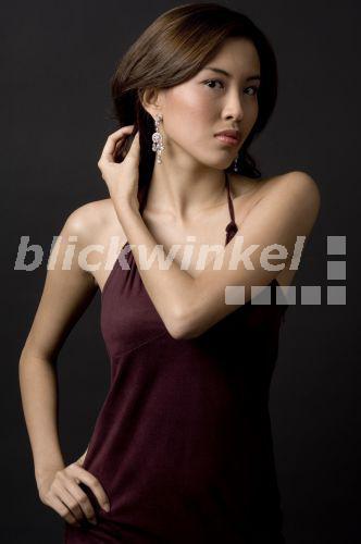 Hübsche Asiatin