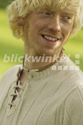 Blonder Dreitagebart