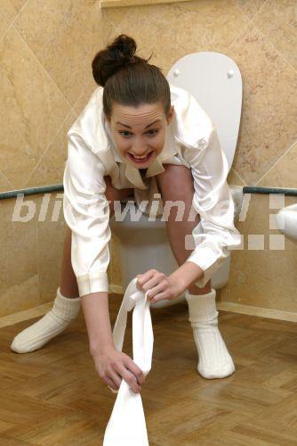 Saugen Sie einfach Toilette - linkwunderde/flirt