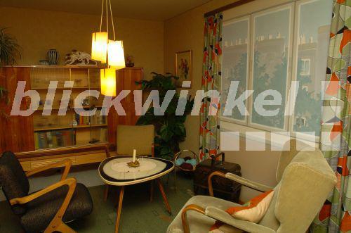 blickwinkel - Wohnung im Stil der 50er Jahre, Wohnzimmer - apartment ...