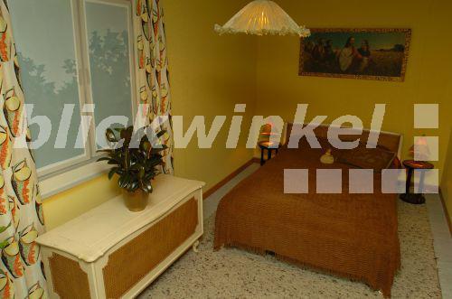 blickwinkel - Wohnung im Stil der 50er Jahre, Schlafzimmer ...