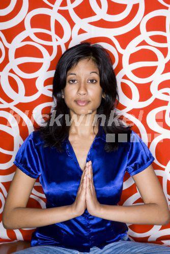 Junge Indische Frau